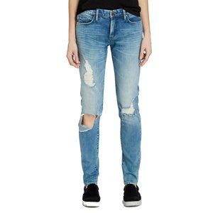 BLANKNYC Skinny Distressed Destroyed Jeans 26
